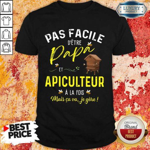 Papa Apiculteur Shirt
