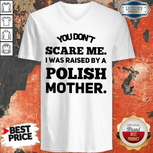 A Polish Mother Raised V-neck