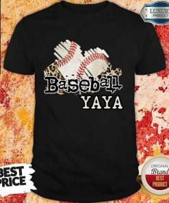 Baseball Yaya Shirt