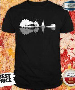 Nice Guitar Lake Sailing Shirt