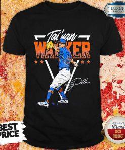 Taijuan Walker New York Baseball Signature Shirt