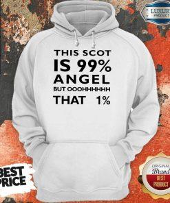 This Scot Is 99 Angel Percent Hoodie